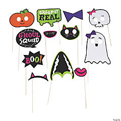 Ghoul Squad Photo Stick Props