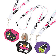 Ghouls Squad Breakaway Lanyards & Coin Purses