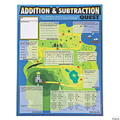 Giant Addition & Subtraction Quest Activity Sheets