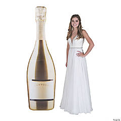 Giant Champagne Bottle Stand-Up