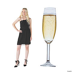 Giant Champagne Glass Stand-Up