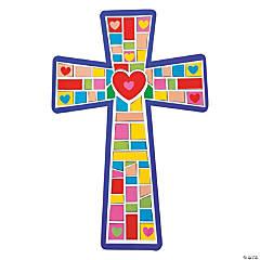 Giant Cross Mosaic Sticker Scenes