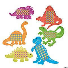 Giant Dinosaur Weaving Mats