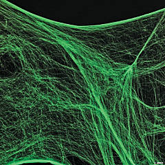 Giant Glow-in-the-Dark Spider Web