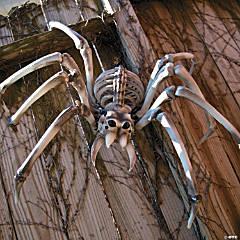 Giant Halloween Skeleton Spider