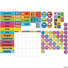 Giant Magnetic Calendar Set, 94 Pieces