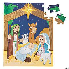 Giant Nativity Floor Jigsaw Puzzle