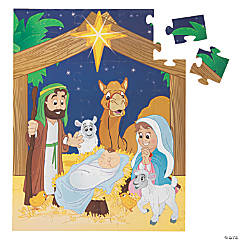 Giant Nativity Floor Puzzle