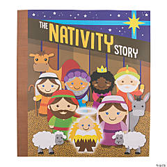 Giant Nativity Story Book