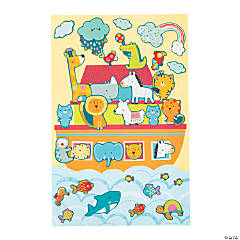 Giant Noah's Ark Sticker Scenes
