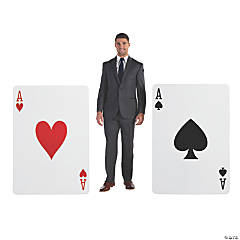 Giant Playing Card Stand-Ups