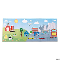 Giant Rural & Urban Sticker Scenes