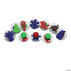 Giant Stampers Christmas Shapes 10/Set