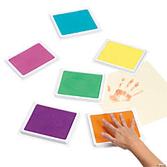 Giant Tropical Colors Stamp Pad Set 6