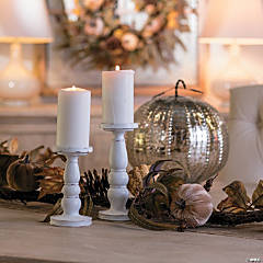 Gilded Harvest Candle Holders