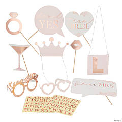 Ginger Ray Customizable Bridal Shower Photo Props