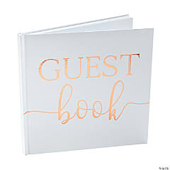 Ginger Ray Gold Foil Wedding Guest Book