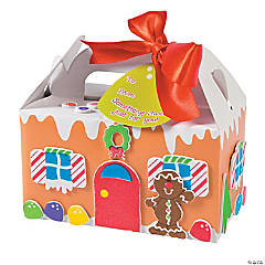 Gingerbread House Treat Box Craft Kit