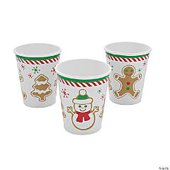 Gingerbread Party Paper Cups