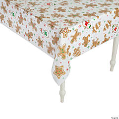 Gingerbread Party Tablecloth