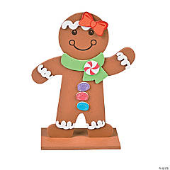 Gingerbread Stand-Up Craft Kit