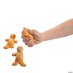 Gingerbread Stress Toys PDQ