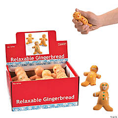 Gingerbread Stress Toys
