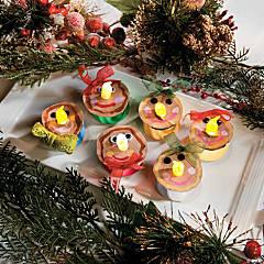 Gingerbread Tea Light Christmas Craft Idea
