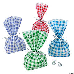 Gingham Cellophane Bag Assortment