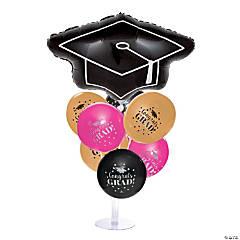 Girl Graduate Balloon Centerpieces