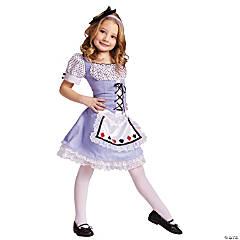 Girl's Alice in Wonderland™ Alice Costume - Small