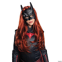 Girl's Batwoman Wig and Mask Kit