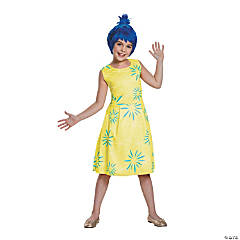 Girl's Classic Inside Out™ Joy Costume - Large