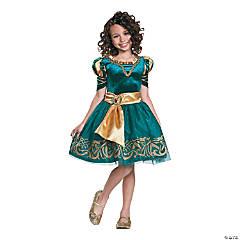 Girl's Classic Merida Halloween Costume - Extra Small