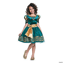 Girl's Classic Merida Halloween Costume - Small