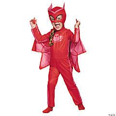 Girl's Classic PJ Masks™ Owlette Costume