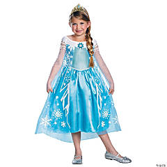 Girl's Deluxe Disney's Frozen™ Elsa Costume - Medium