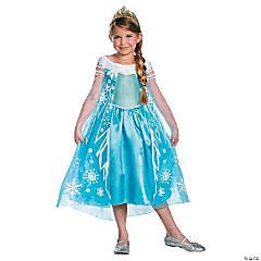Girl's Deluxe Frozen™ Elsa Costume - Medium