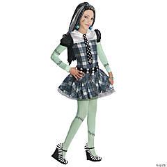 Girl's Edgy Monster High™ Frankie Stein Costume