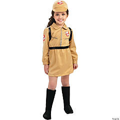 Girl's Ghostbusters™ Dress Costume - Large
