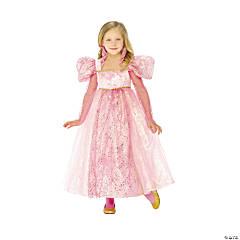 Girl's Glitter Princess Costume Dress - Small