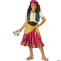 Girl's Gypsy Costume - Large
