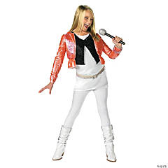 Girl's Hannah Montana™ with Pink Jacket Costume