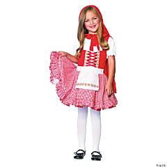 Girl's Lil' Miss Red Riding Hood Costume - Large