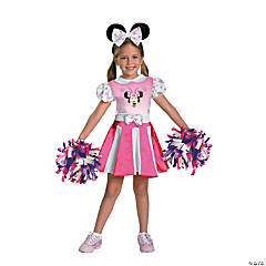 Girl's Minnie Mouse™ Cheerleader Costume - Medium