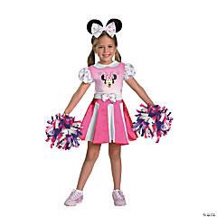 Girl's Minnie Mouse™ Cheerleader Costume