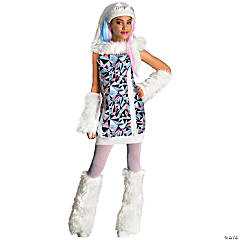 Girl's Monster High™ Abbey Bominable Costume - Large