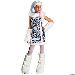 Girl's Monster High™ Abbey Bominable Costume - Medium