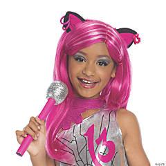 Girl's Monster High™ Catty Noir Wig