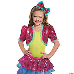 Girl's Pink Dance Craze Bolero Costume - Medium/Large
